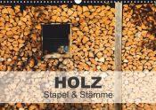 Kalender Holz - Stapel & Stämme