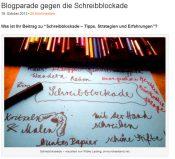 Blogparade: Ist das eine Schreibblockade?